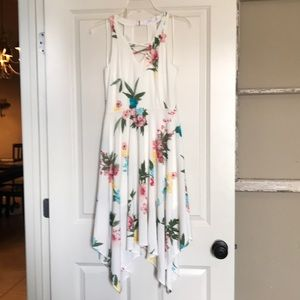 NWOT Candie's floral cocktail dress